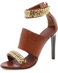 Jenni Kayne - Chain High Heel Sandals - Lyst