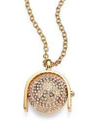 Kara Ross - Sphere Pendant Necklace - Lyst