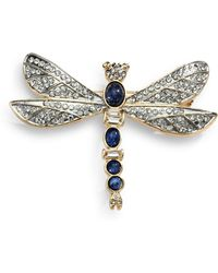 Kenneth Jay Lane Firefly Pin - Lyst