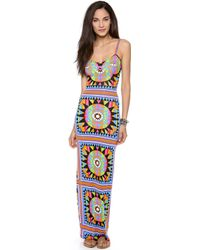 Mara Hoffman Cover Up Maxi Dress - Lyst