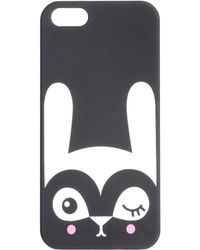 Monki - Iphone 5 Winking Bunny Hard Case - Lyst
