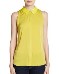 Sachin & Babi Chiquita Sequined Collar Blouse - Lyst