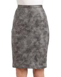 Sachin & Babi Kiel Acid Wash Pencil Skirt - Lyst