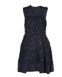 3.1 Phillip Lim Sleeveless Eyelash Tweed Dress - Lyst