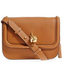 Alexander McQueen Padlock Leather Cross Body Bag - Lyst