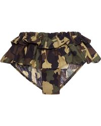 Harvey Faircloth - Mo Exclusive Ruffled Camouflage Brief - Lyst