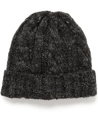 J.Crew | Wool-blend Cable-knit Hat | Lyst