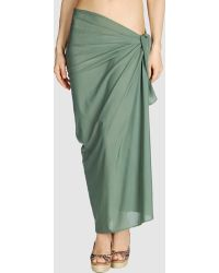 Lenny Green Sarong - Lyst