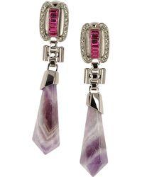Mawi Earrings gray - Lyst