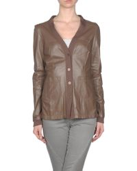 Max & Moi Leather Outerwear - Lyst