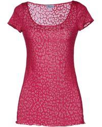 Blumarine Short Sleeve T-Shirt - Lyst
