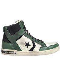 Converse Weapon Leather High Top Sneakers - Lyst