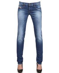 Diesel Stretch Denim Getlegg Jeans - Lyst