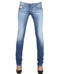 Diesel Stretch Denim Grupee Jeans - Lyst