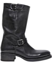 DSquared² - 45mm Leather Classic Biker Boots - Lyst