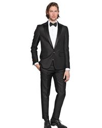 DSquared2 Beverly Hills Wool Textured Silk Suit - Lyst