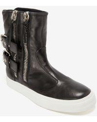 Giuseppe Zanotti Buckled Sneaker Boot - Lyst