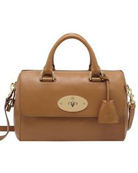 Mulberry Small Del Rey Glossy Leather Bag - Lyst