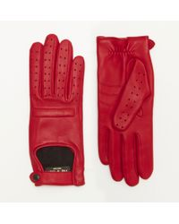 Rag & Bone Red Racer Glove - Lyst
