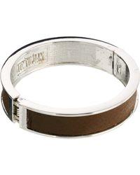 Tokyo Jane - Rita Wide Leather Bracelet - Lyst