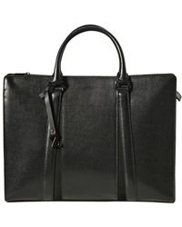 Z Zegna - Saffiano Leather Briefcase - Lyst