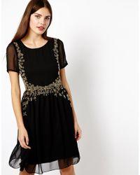 A Wear - Embellished Front Dress - Lyst