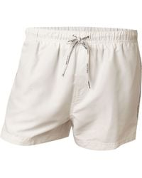Calvin Klein Short Swim Trunk with Basic Logo - Lyst