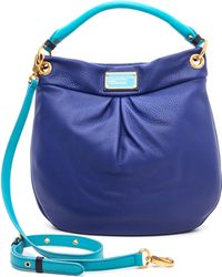 Marc By Marc Jacobs Classic Q Colorblock Hillier Hobo - Lyst