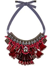 Matthew Williamson - Opulent Beaded Necklace - Lyst