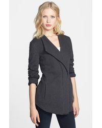 Stem Drape Collar Jacket - Lyst
