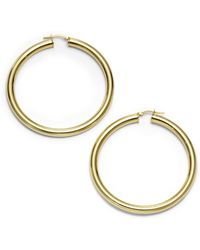 1AR By Unoaerre - Classic Hoop Earrings225 Inches - Lyst