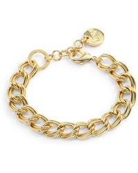 1ar By Unoaerre Twisted Double Link Bracelet - Lyst