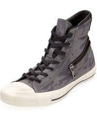 Converse Hiddenzipper Camoprint Hightop Sneaker - Lyst