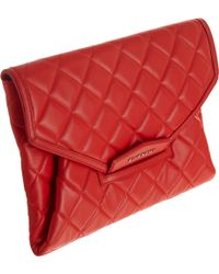 Givenchy Quilted Antigona Envelope Clutch - Lyst