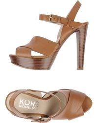 Kors By Michael Kors Platform Sandals - Lyst