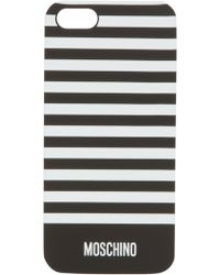 Moschino - Iphone 5 Striped Case - Lyst