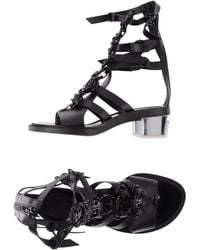 Paco Rabanne Highheeled Sandals - Lyst