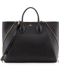 Pour La Victoire Yves Alsace Medium Tote Bag Black - Lyst