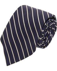 Michael Bastian - Diagonal Repp Striped Tie - Lyst