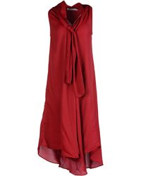 See By Chloé Kneelength Dress - Lyst
