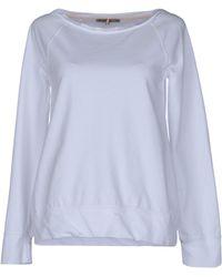 Patrizia Pepe Long Sleeve Tshirt - Lyst