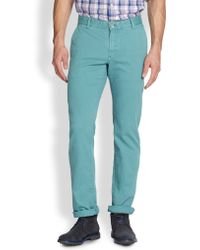 Façonnable Dean Stretch Cotton Chino Pants - Lyst