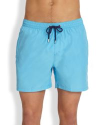 Façonnable - Packable Swim Trunks - Lyst