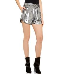 Lovers + Friends - Lovers Friends Woodstock Shorts Party Sequin - Lyst