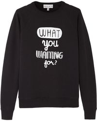 Lulu & Co What You Waiting For Sweatshirt - Lyst
