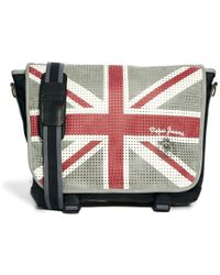 Pepe Jeans - Union Jack Messenger Bag - Lyst
