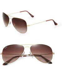 Ray-Ban Aviator Sunglasses - Lyst