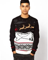 Rock Revival - Christmas Jumper - Lyst
