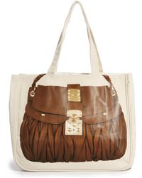 Thursday Friday | Cognac Braids Together Bag | Lyst