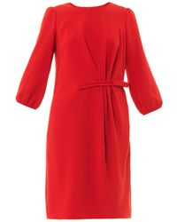 Max Mara Studio Red Patio Dress - Lyst